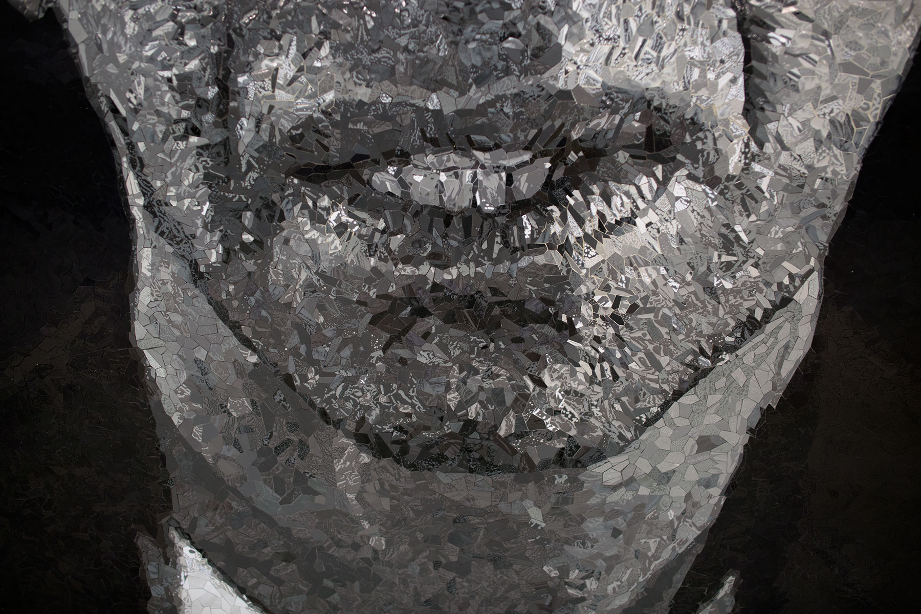Alex_Chuck Close Subway Portraits detail
