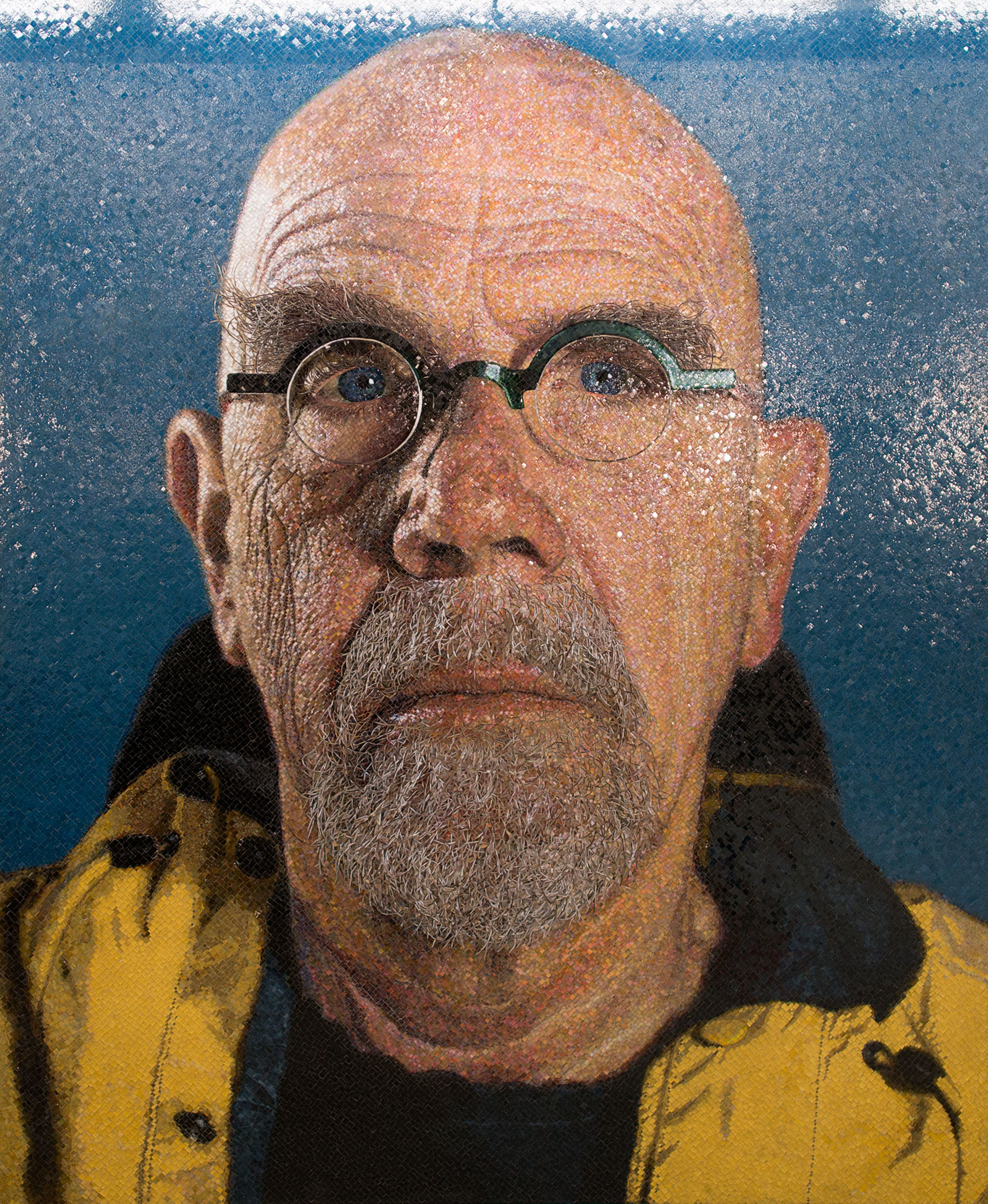 Chuck Close: Self-Portraits 1967-2005 - walkerart.org