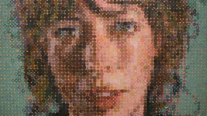 CHUCK CLOSE (Cecily and Kara)