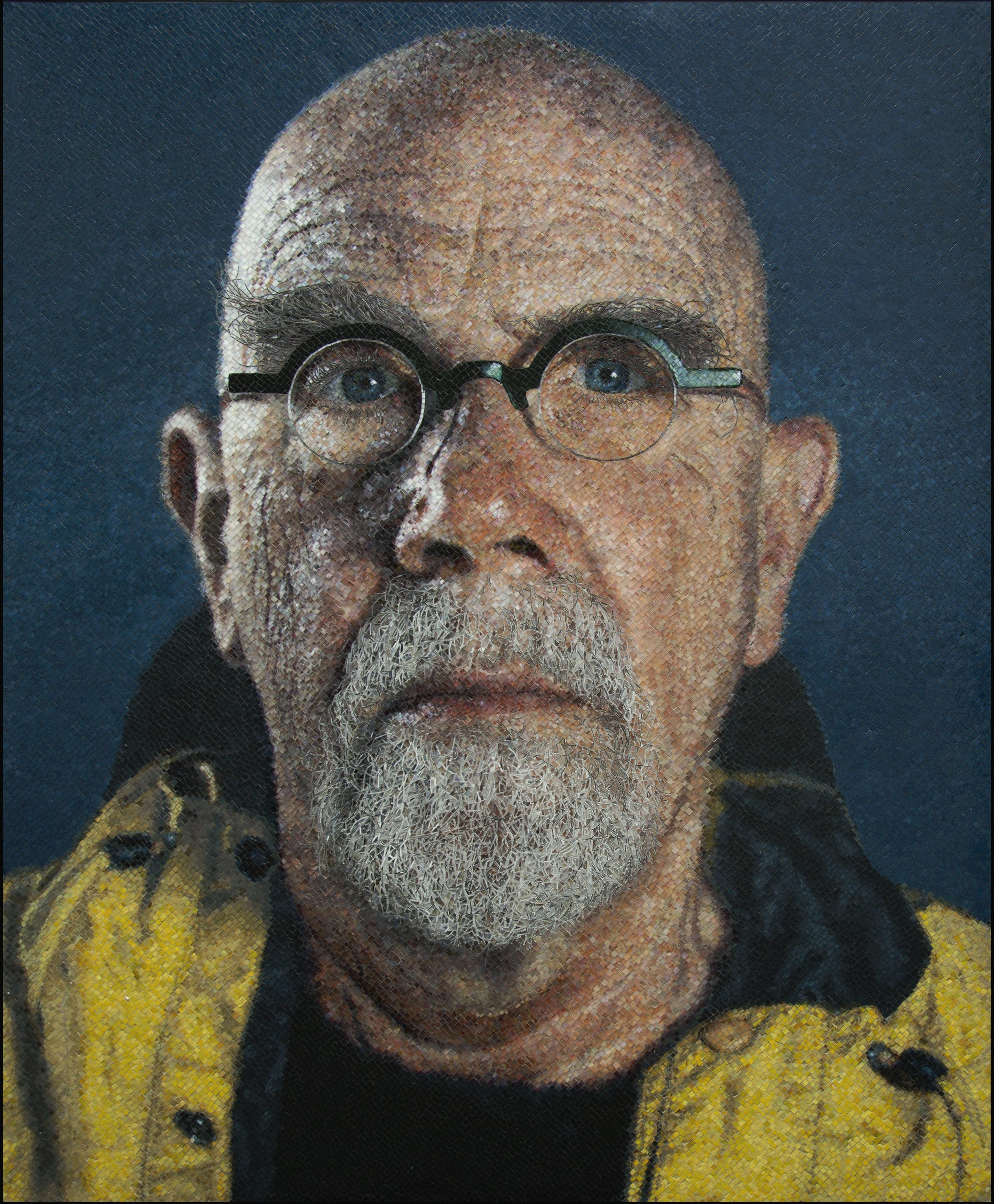 Chuck Close MAR Ravenna Yellow Raincoat_FULL