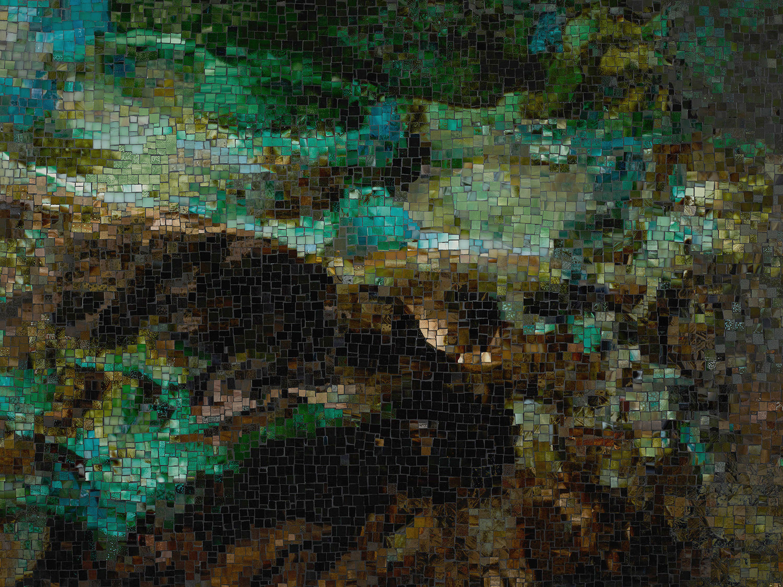 Teresita Fernandez Viñales mosaic detail-(Subterranean)-det03
