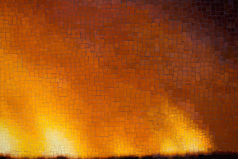 Teresita Fernández Fire (America) detail
