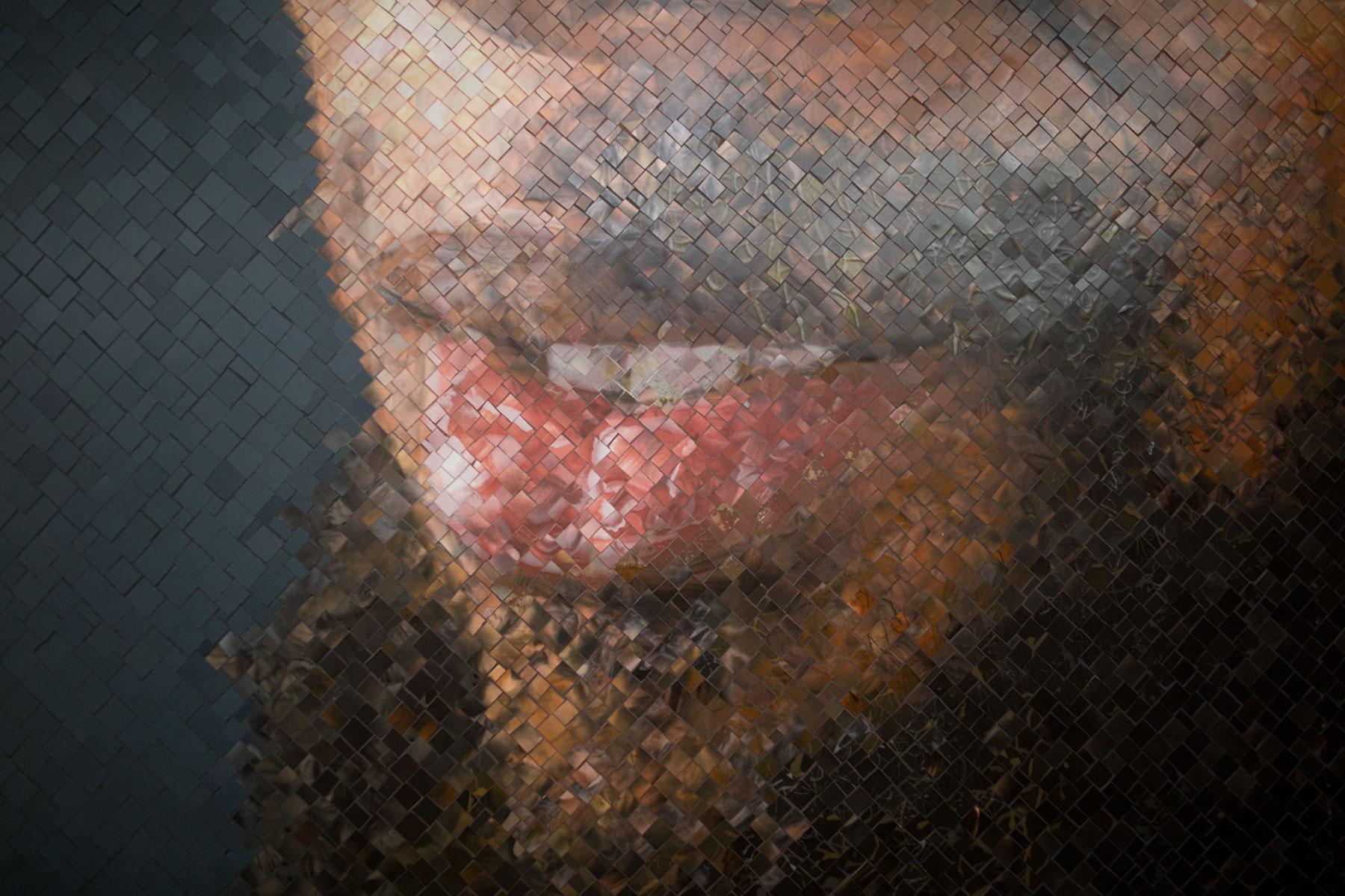 Poszi_Chuck Close Subway Portraits detail