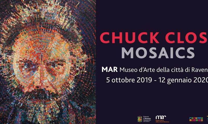 CHUCK CLOSE- MAR Ravenna Biennale
